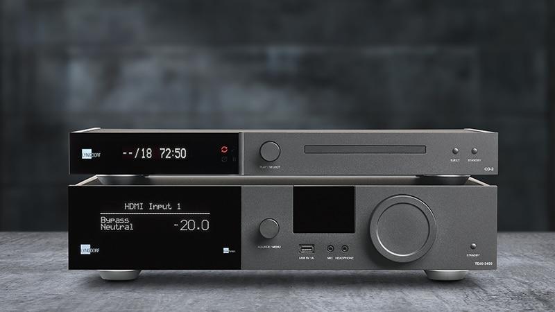 CD-2 和 TDAi-3400