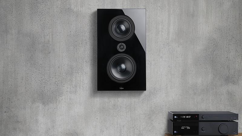 FR-1 black on wall