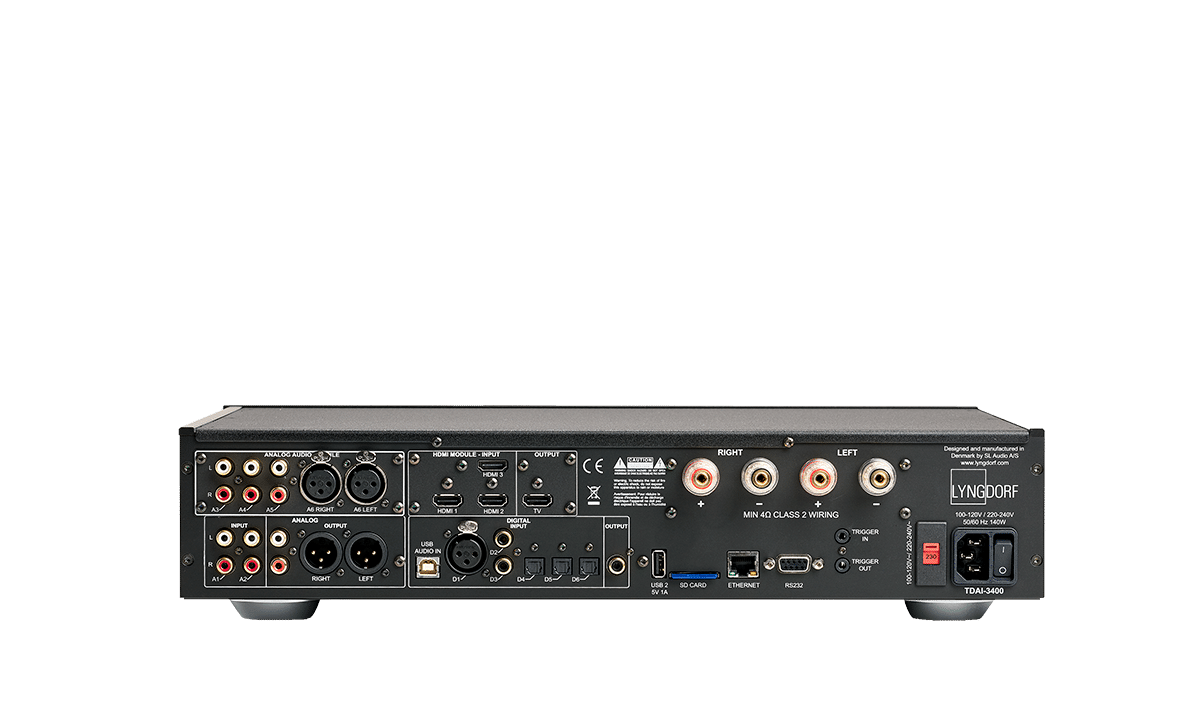 TDAI-3400 back
