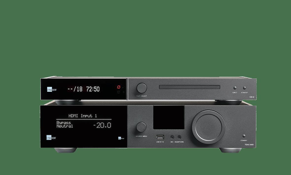 TDAI-3400 and CD-2