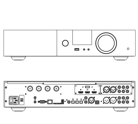TDAi-3400 technical drawings