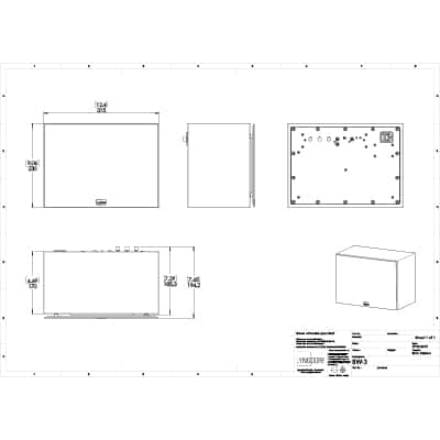 Lyngdorf BW-3 technical drawings