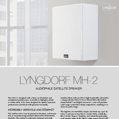 Lyngdorf MH-2 fact sheet