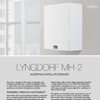 Lyngdorf MH-2 fact sheet