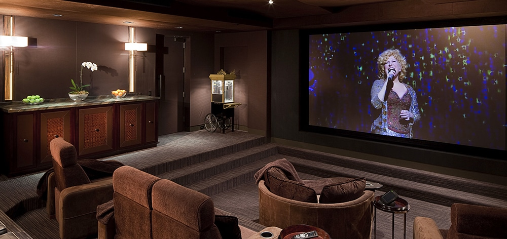 Home theater with Model LS 2