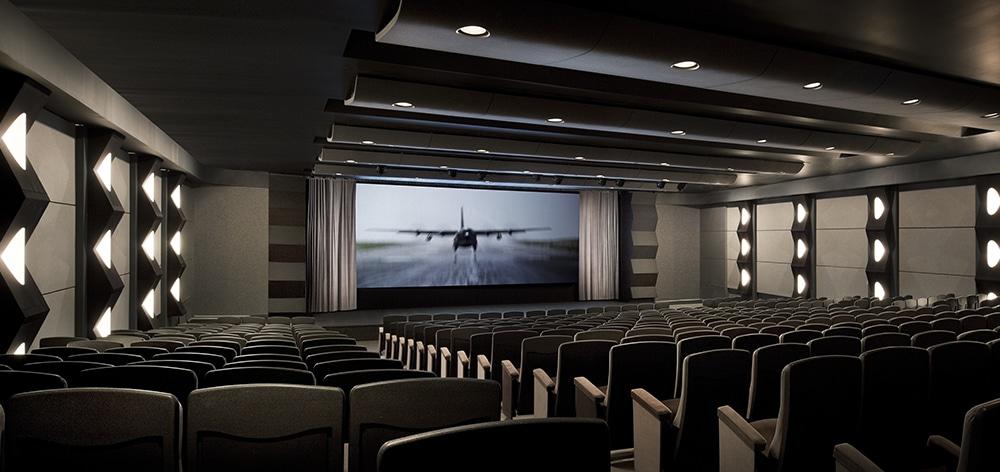 Silverscreen theater in California inside