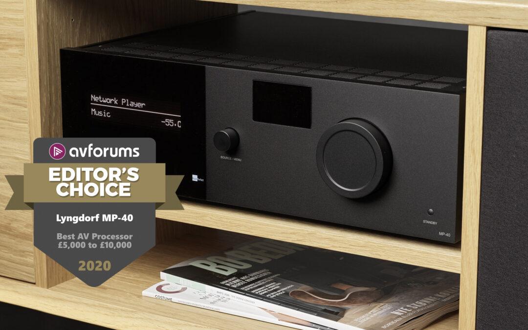 MP-40 榮獲 2020 年「編輯首選」大獎