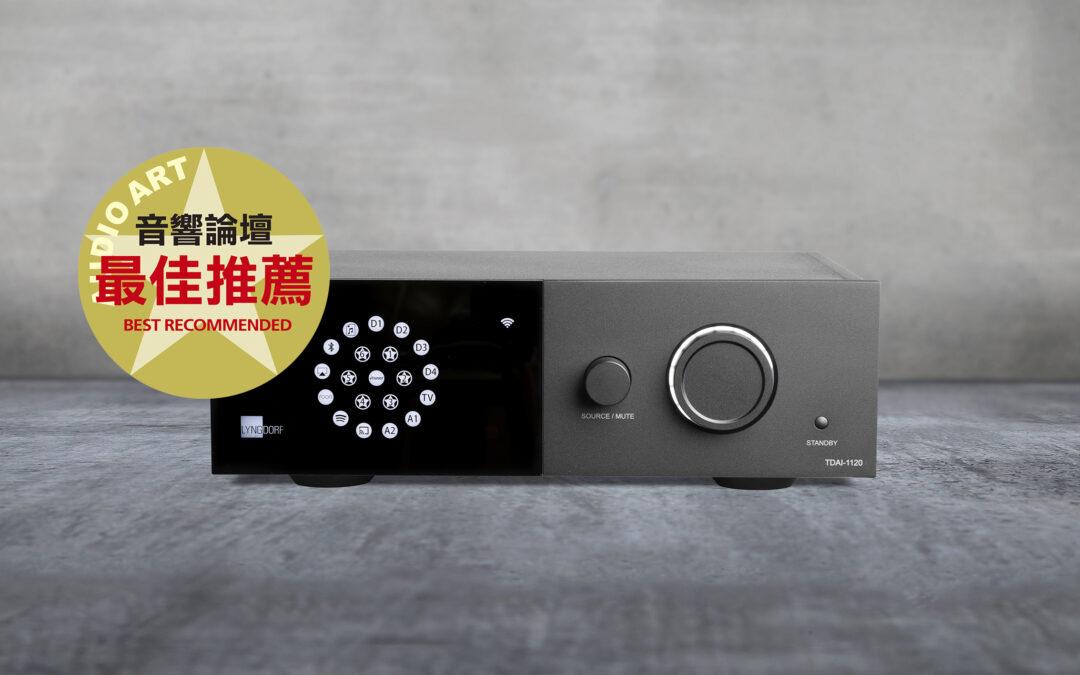 TDAI-1120 award in Taiwan
