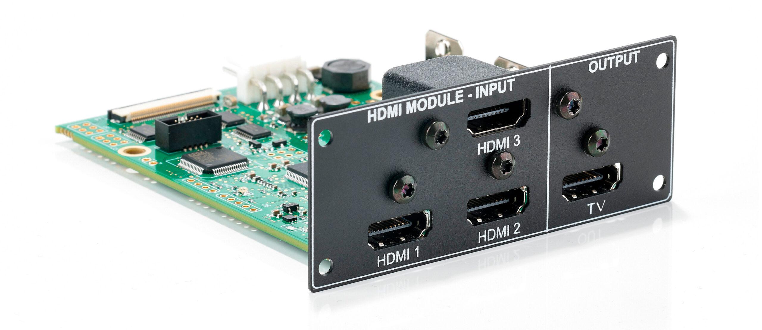 New HDMI module