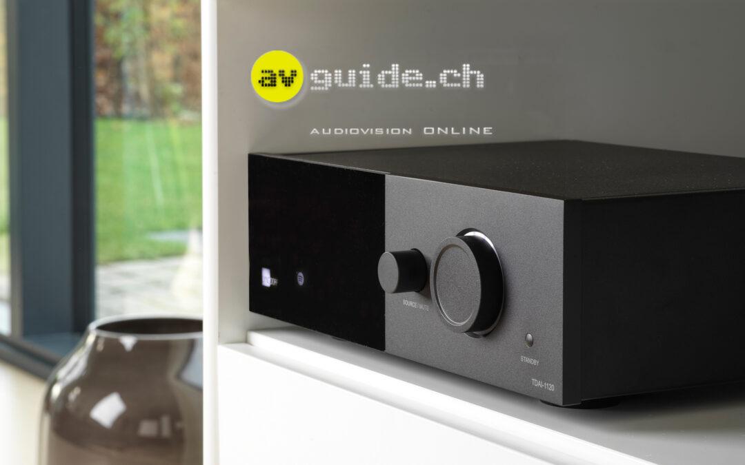 """Digital wonder box"" – Swiss review of TDAI-1120"