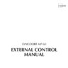 Lyngdorf MP-60 external control manual